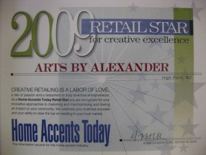 Home Accents Today's Top 50 Retail Stars